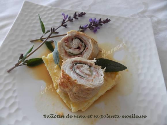 Ballotin de veau et sa polenta moelleuse DSCN3370