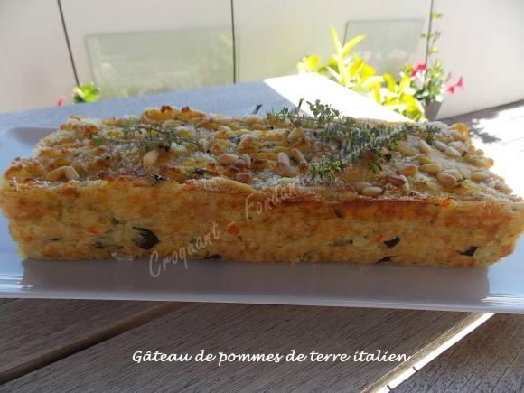 Gâteau de pommes de terre italien DSCN4692