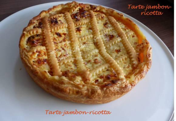Tarte jambon-ricotta P1010092