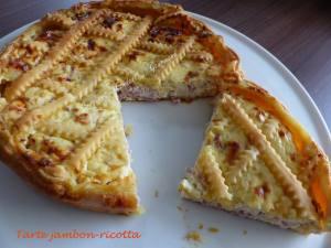 Tarte jambon-ricotta P1010098