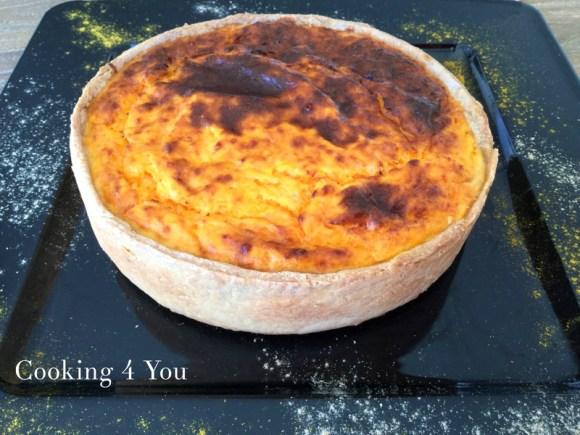 Tourte butternut et confit d'oignons à vous de jouer Cooking 4 you