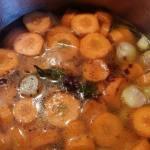 Soupe de carottes à la cannelle à vous de jouer Isa gdc 20170313_180559