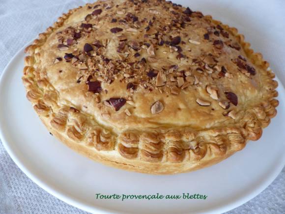 Tourte provençale aux blettes P1010221