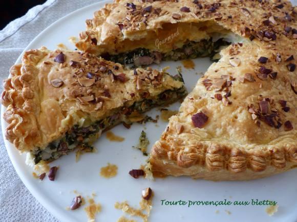 Tourte provençale aux blettes P1010226