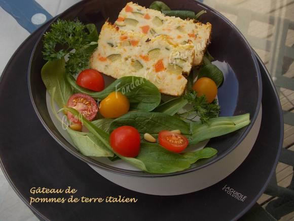 Gâteau de pommes de terre italienDSCN4755