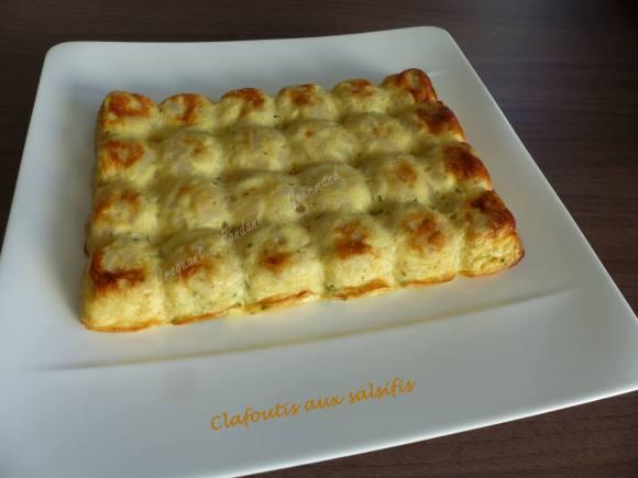 Clafoutis aux salsifis P1010309