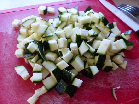 Pâtes aux légumes de l'été P1030637