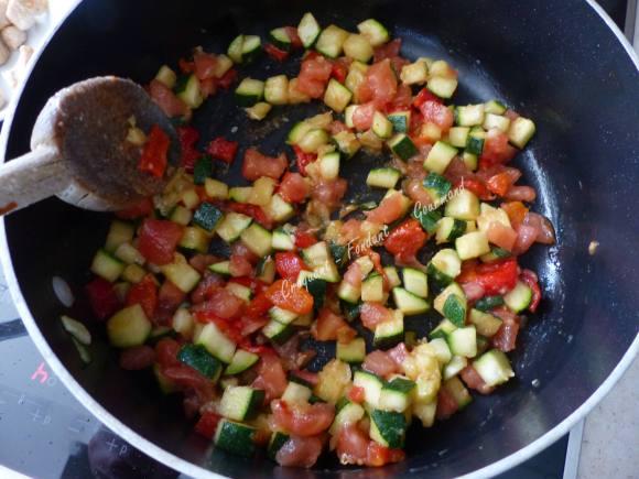 Pâtes aux légumes de l'été P1030641
