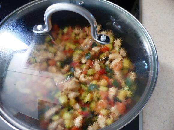 Pâtes aux légumes de l'été P1030644