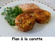 Flan à la carotte Index P1000802