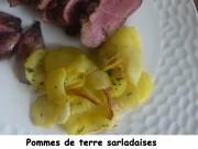 Pommes de terre sarladaises à l'Actifry Index P1010365