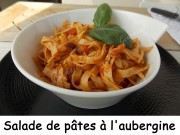 Salade de pâtes à l'aubergine Index DSCN5506