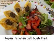 Tajine tunisien aux boulettes Index DSCN4953