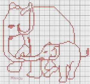 Elephant-maman-avec-enfant