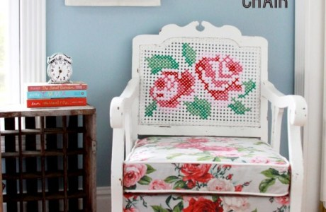 Stitch A Cross Stitch Chair