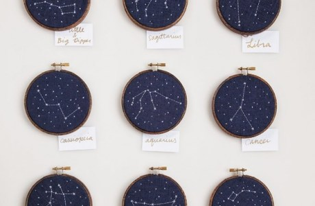 Pattern Inspiration: Cross-Stitch Constellations