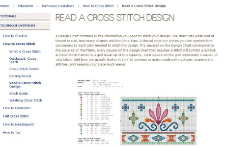 Head to DMC for Great Cross-Stitch Basics