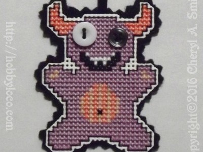 More Little Halloween Cross Stitch Patterns