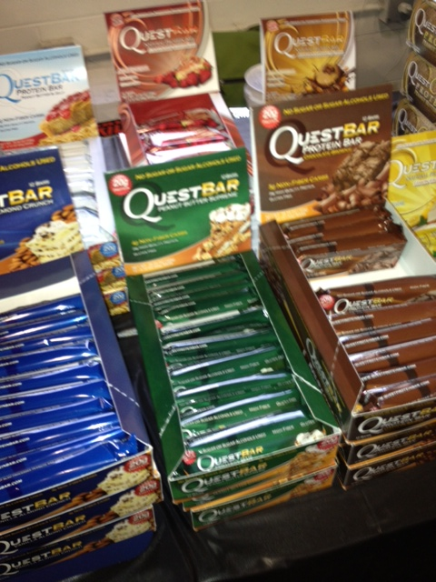 What's your favorite Quest Bar? Ever take a cookie dough and a chocolate brownie bar, heat them up, and smoosh them together? Ya...neither have I...