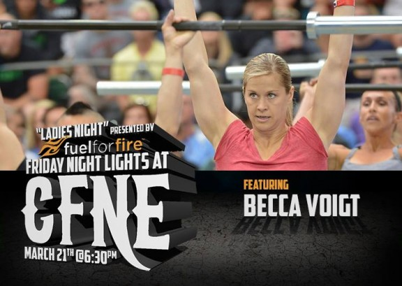 Come cheer on Becca and many other CrossFit Games competitors!