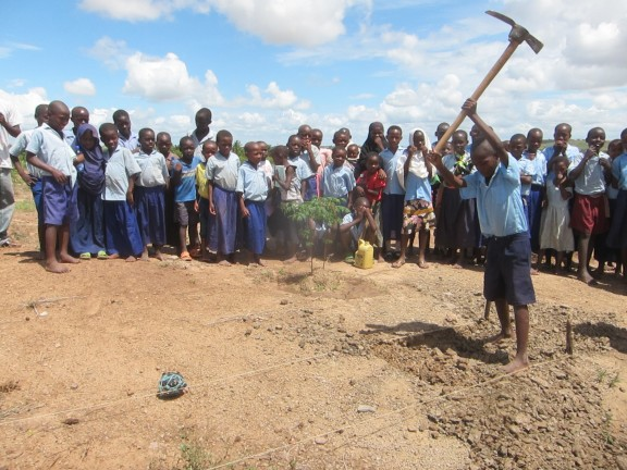 In the village of Vikolani they are breaking ground for the CrossFit New England School. The project will be done by the time school starts back up on May 5th.