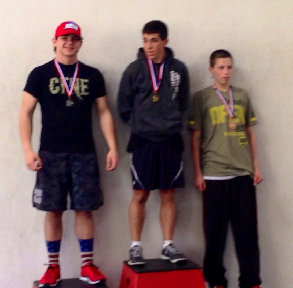 Bobby took home 2nd place this past weekend at the CrossFit Cynergy Teen Comp! Nice work Bobby!