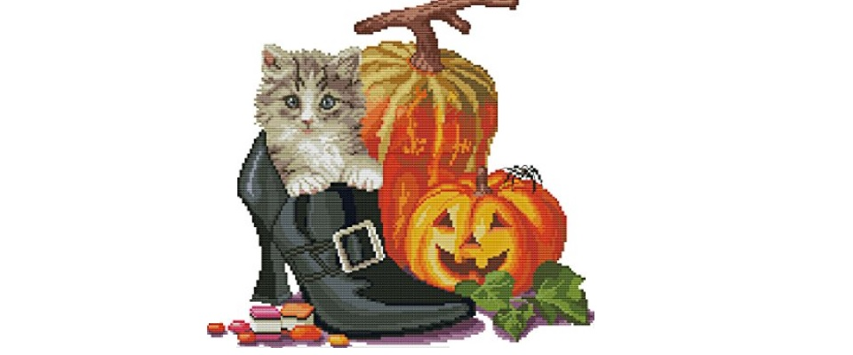 Halloween Cross Stitch Picture Kits