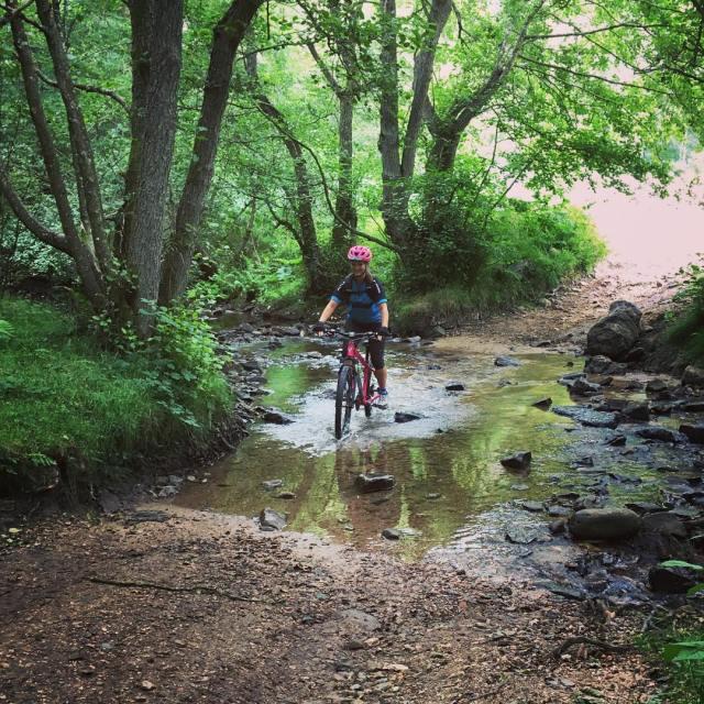 Nina is a beginner to Mountain Biking but Cross thehellip