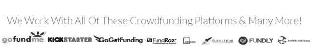 #1 GoFundMe, IndieGoGo KickStarter Campaign Advertising Company! Donations & Exposure Crowd Funding Campaign Promotion, CrowdFunding Advertising, Internet Marketing, Social Media Promotion, Twitter Promotion, Facebook Marketing & News Release Promotion