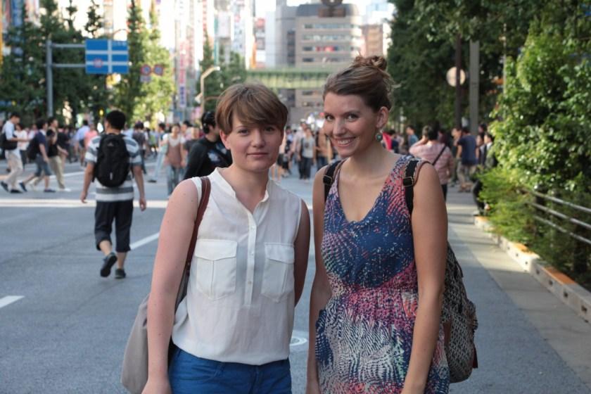 Lisa Altmeier und Steffi Fetz