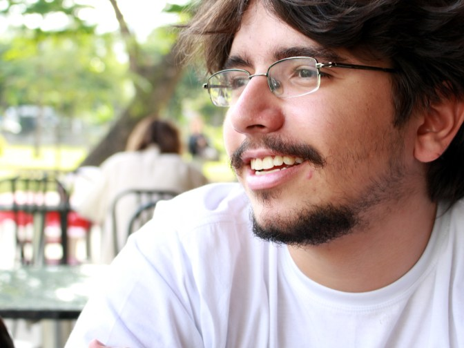 """Rafael Rezende, der Politiker in den """"Schnellkochtopf"""" steckt."""