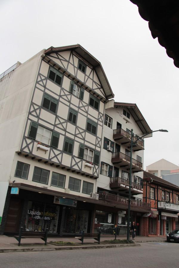 Fachwerkhäuser in Blumenau