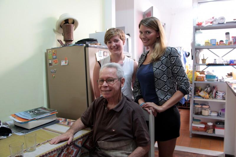 Wiedersehen mit dem Atomphysiker Rapha de Junior. Diesmal erzählte er uns von der brasilianischen Militärdiktatur.