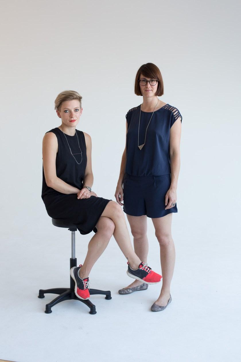 Stefanie Greimel und Johanna Wallenborn