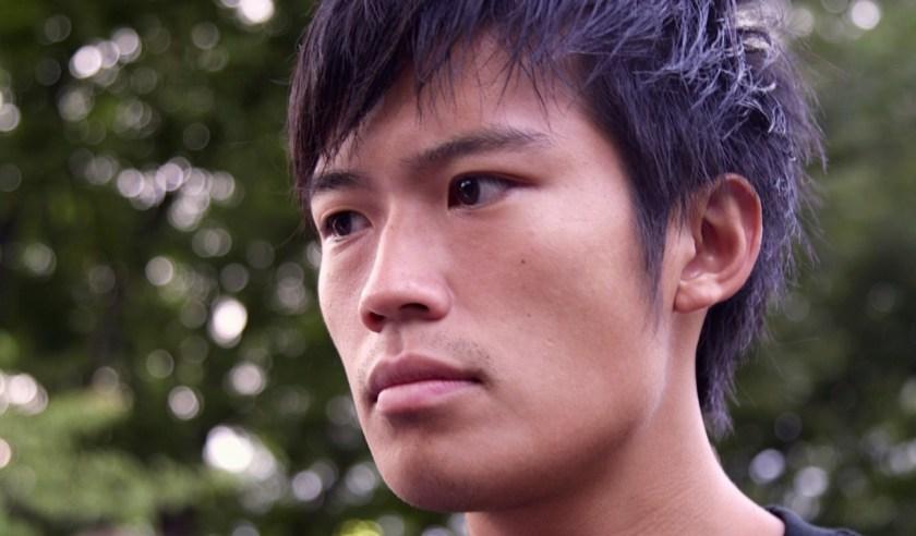 Daikichi, einer der Organisatoren der Proteste.