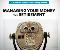 Cover of book Managing Your Money in Retirement