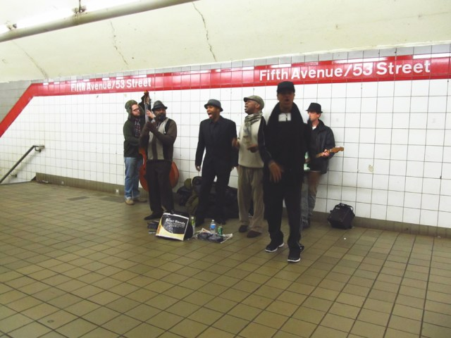 underground acapella band new york