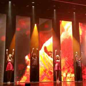 Captivating! Latin Nights production show aboard Carnival Conquest