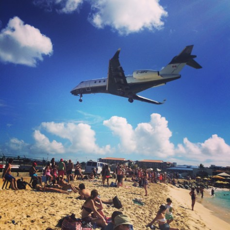 Maho Beach Instagram