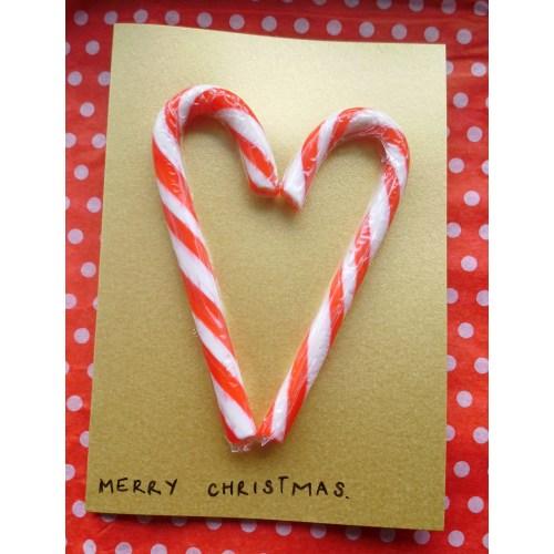 Medium Crop Of Handmade Christmas Cards