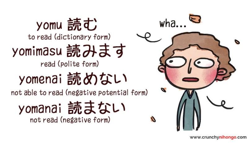 japanese-conjugation-samples