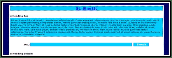 St.ShorIt