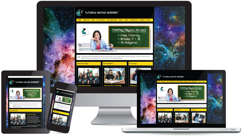 Website Design Tutoring Beyond Borders
