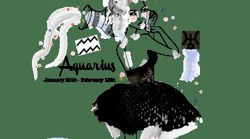 Happy Birthday Aquarius: Jan 20th-Feb 18th