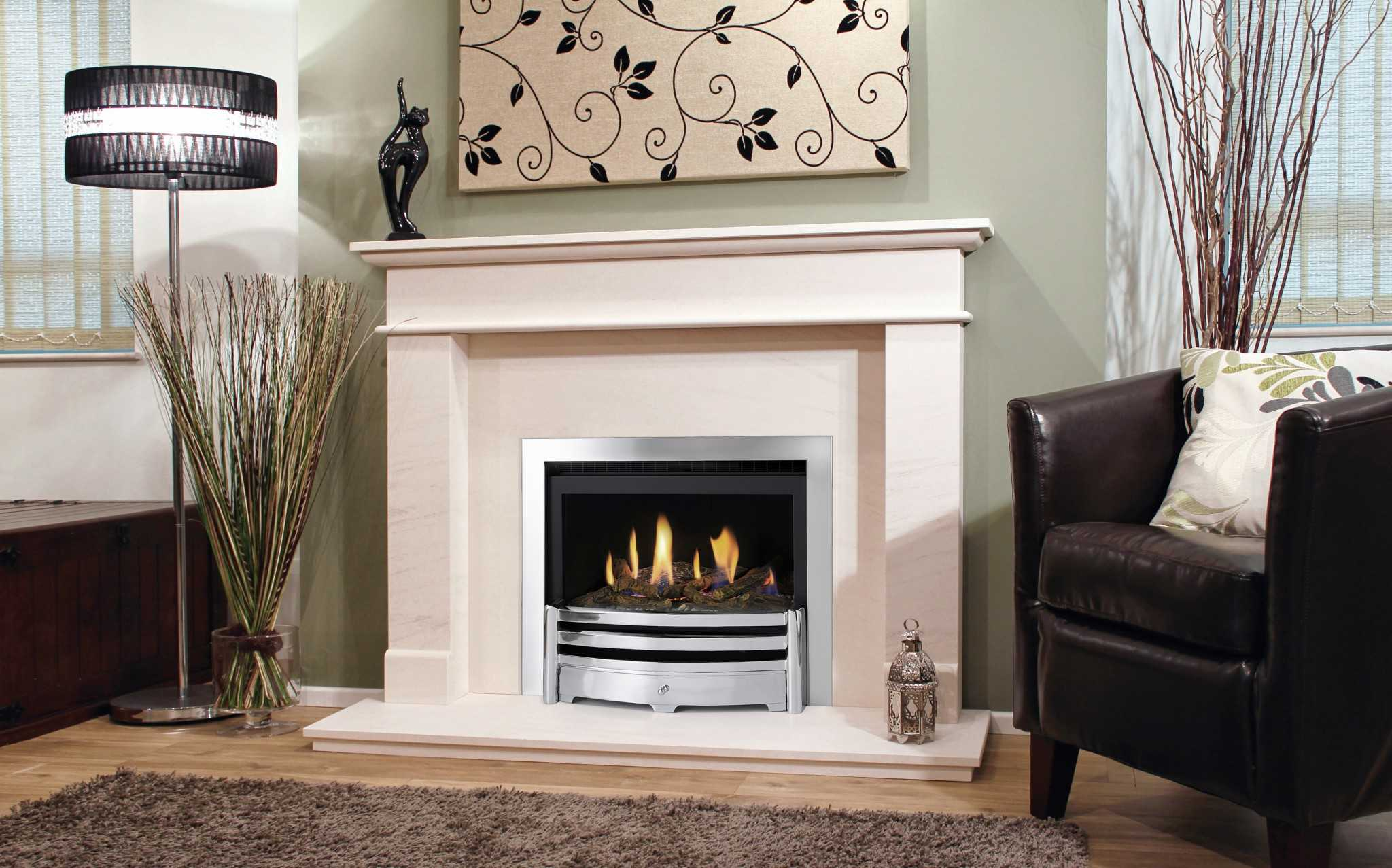 Fires Living Flame Gas Fires And Fireplaces
