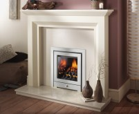 living flame gas fires