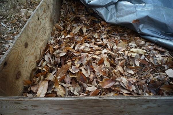 堆肥のよい匂いがしてきます。