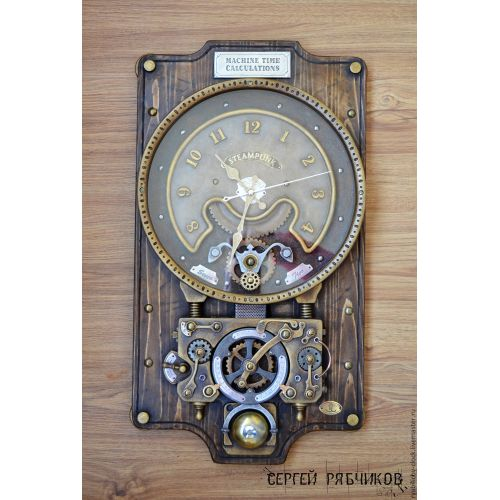 Medium Crop Of Steampunk Wall Clock