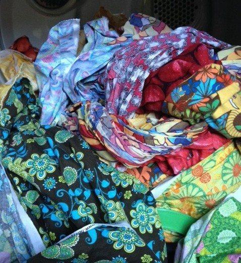 Prewashed fabric