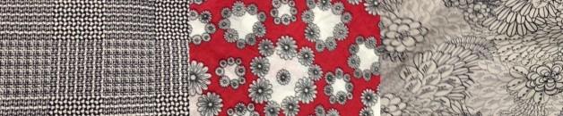 Three fabrics - no border